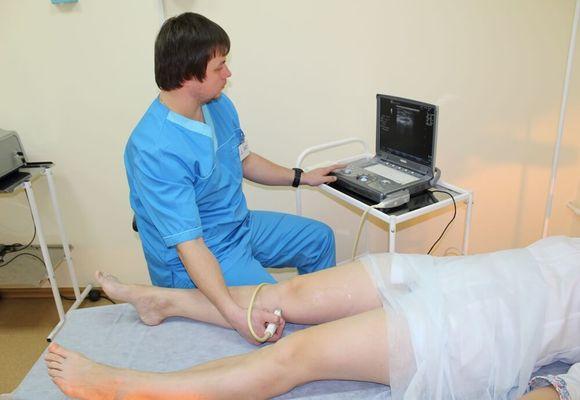 Сканирование варикоза нижних конечностей