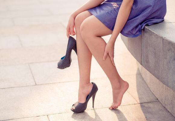 синюшность ног