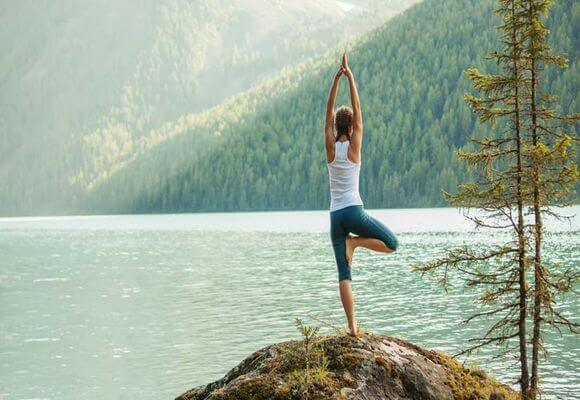 медитация у воды