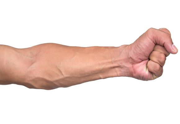 Вздутие вен на руках